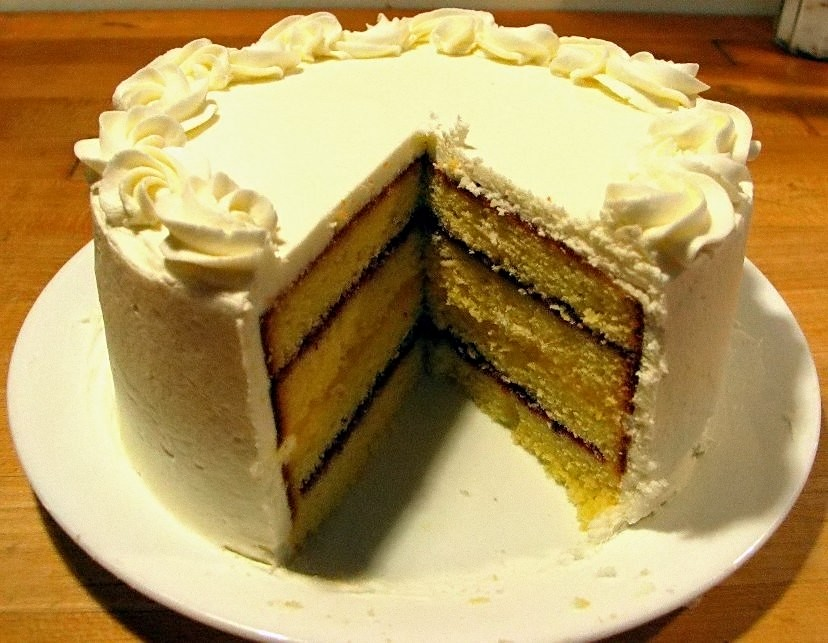layers of delicious cake